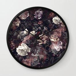 EXOTIC GARDEN - NIGHT III Wall Clock
