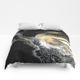 Black Obsession Comforters