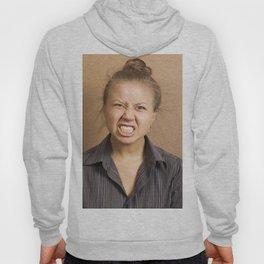 Angry woman Hoody