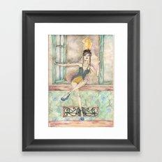 Vedette Framed Art Print
