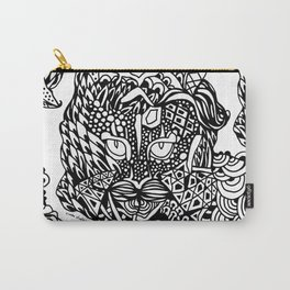 Dragon Cat Carry-All Pouch
