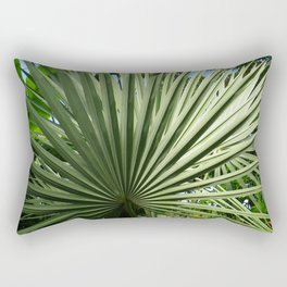 Fan Palm Rectangular Pillow