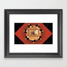 Diplomacy Framed Art Print