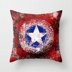 Avengers - Captain America Throw Pillow