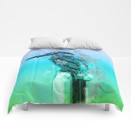 The colorful life of a King Fisher Comforters