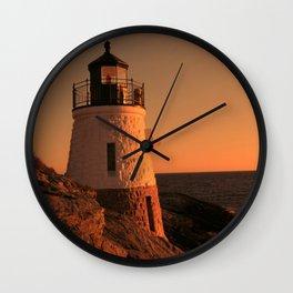 Castle Hill Light Wall Clock