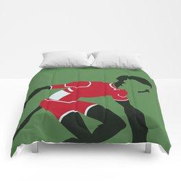 Beast Boy Minimalism Comforters