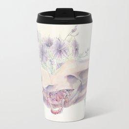 Bathing in a Violet Garden Travel Mug