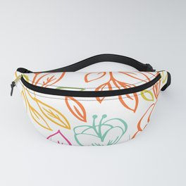 Bold Blooms Fanny Pack