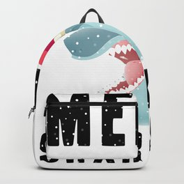 20% OFF! Merry Sharkmas Funny Shark 2020 T Shirt Backpack