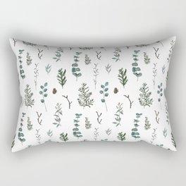 Pine and Eucalyptus Rectangular Pillow