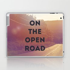 on the open road. Laptop & iPad Skin