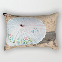 Pretty Parasol Rectangular Pillow