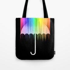 Rain of Colors Tote Bag
