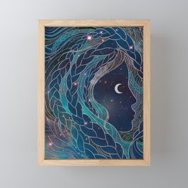 Carina Framed Mini Art Print