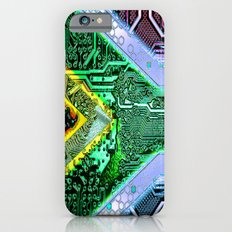 circuit board South Africa (Flag) iPhone 6 Slim Case