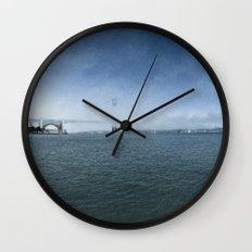 Golden Gate Bridge + Fog Wall Clock