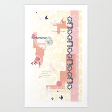 Roses Cease to Bloom Art Print