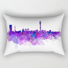 Johannesburg Skyline Rectangular Pillow