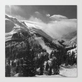 VAL VENY & GLACIER DU MIAGE Canvas Print