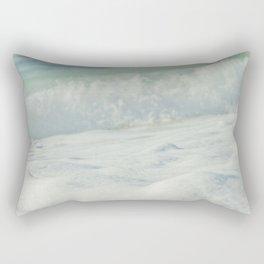 Sea Foam - Ocean Medley Rectangular Pillow