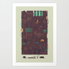 AFK Art Print