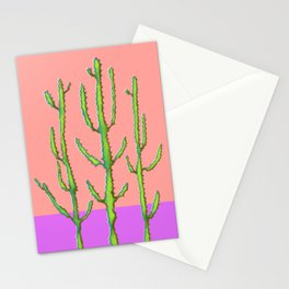Three Amigos Cacti Stationery Cards