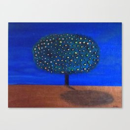 """Tree of golden opportunities"" Canvas Print"