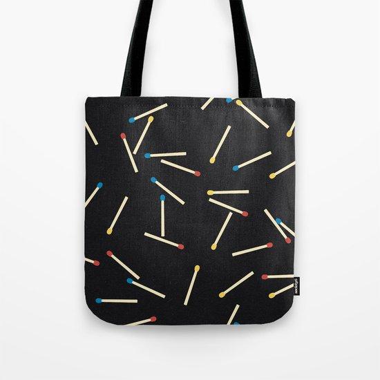 Matchsticks Tote Bag
