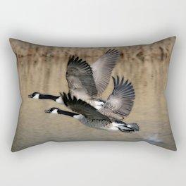 Bird Takeoff Rectangular Pillow