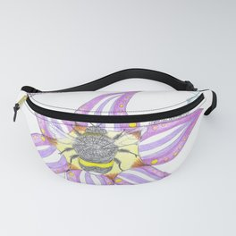 Flowers and Insects Fanny Pack
