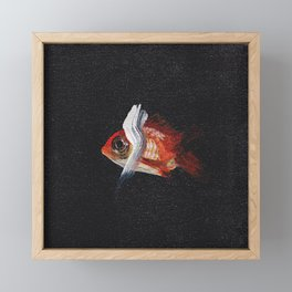 this is water Framed Mini Art Print
