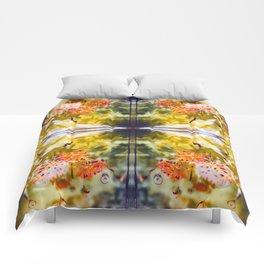 Marigold Photographic Pattern #2 Comforters