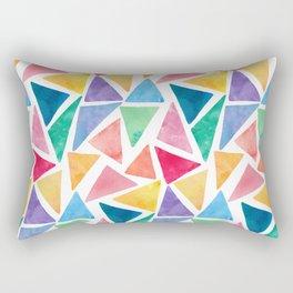 Watercolor Pattern Rectangular Pillow