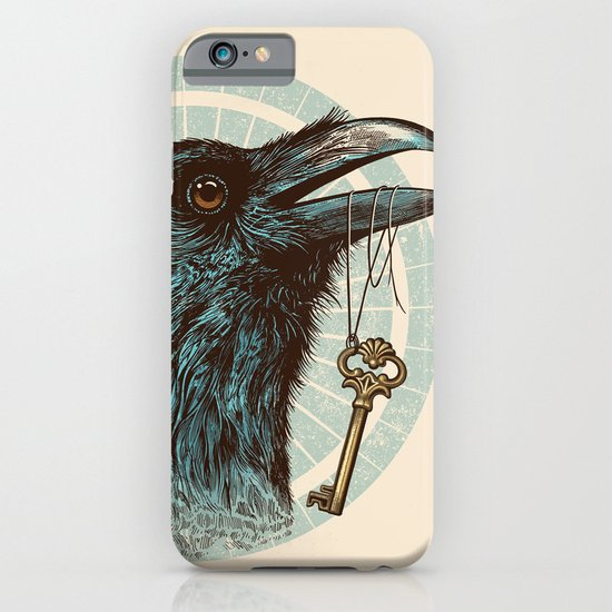 Raven's Head iPhone & iPod Case
