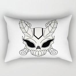 Corrupt Chaos Skull Rectangular Pillow