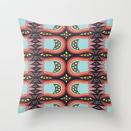 Wild Tulip Throw Pillow