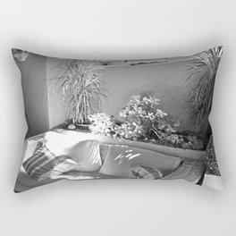 Shady Nook Monochrome Rectangular Pillow