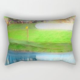 The Masters Golf - The Masters 16th Hole - Augusta National Rectangular Pillow