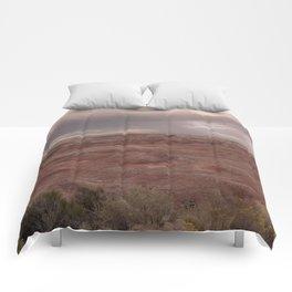 Desert Rain Clouds Comforters