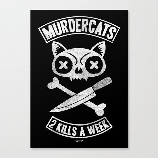 Murdercats Canvas Print