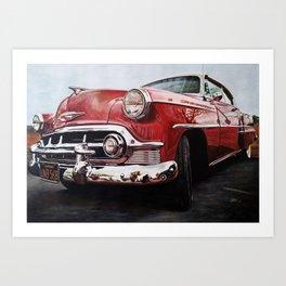 American Dream Car I Art Print