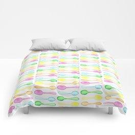 Watercolor Spoons! Comforters