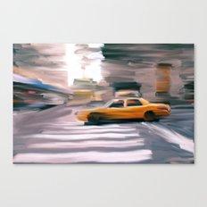 Taxi Cab. Canvas Print