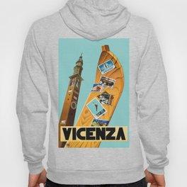 Vintage Vicenza Italy Travel Hoody