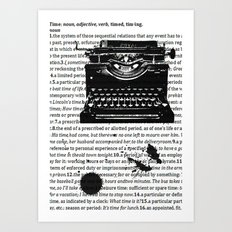 Letters To Saul Art Print