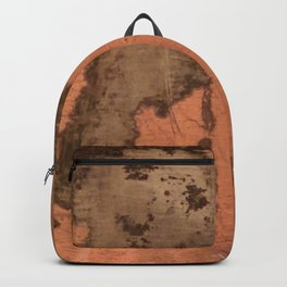 Tarnished Copper rustic decor Backpack