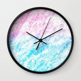 Wispy Silken Tufts Wall Clock