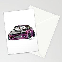 Crazy Car Art 0141 Stationery Cards