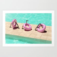 Summer Vibes (Float-3) Art Print